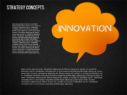 Strategy Concept Shapes, Slide 13, 01486, Business Models — PoweredTemplate.com