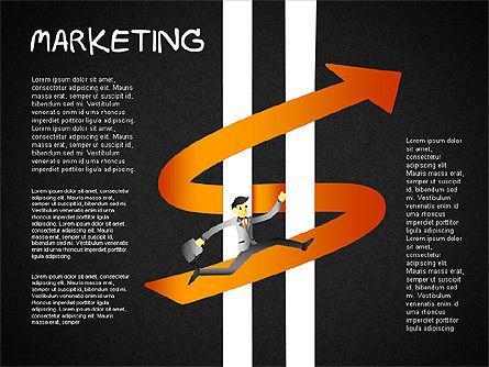 Strategy Concept Shapes, Slide 14, 01486, Business Models — PoweredTemplate.com