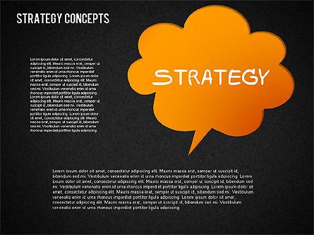 Strategy Concept Shapes, Slide 15, 01486, Business Models — PoweredTemplate.com