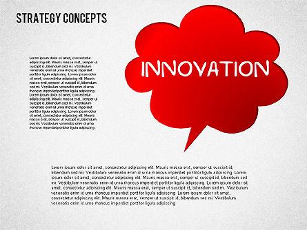 Strategy Concept Shapes, Slide 5, 01486, Business Models — PoweredTemplate.com