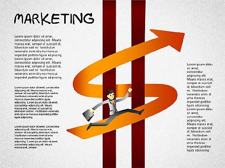 Strategy Concept Shapes, Slide 6, 01486, Business Models — PoweredTemplate.com