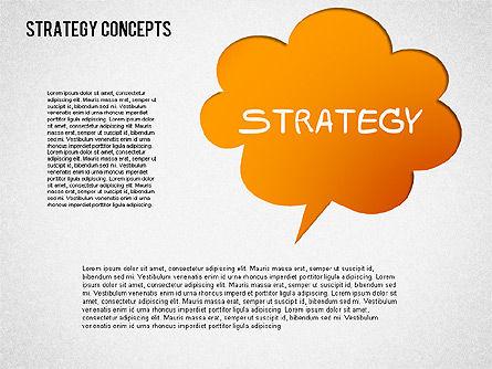 Strategy Concept Shapes, Slide 7, 01486, Business Models — PoweredTemplate.com
