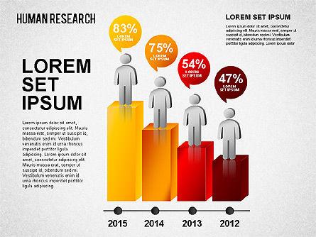 Demographic Infographics, Slide 4, 01490, Business Models — PoweredTemplate.com