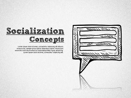 Shapes: Socialization Concept Shapes #01491