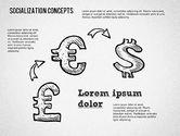 Socialization Concept Shapes#10