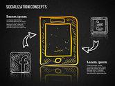 Socialization Concept Shapes#11