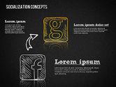 Socialization Concept Shapes#15