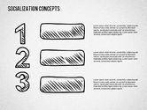 Socialization Concept Shapes#4