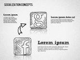 Socialization Concept Shapes#5
