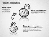 Socialization Concept Shapes#8