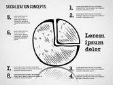 Socialization Concept Shapes#9