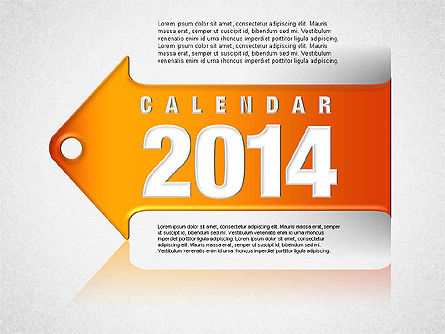 Calendar 2014, 01492, Timelines & Calendars — PoweredTemplate.com