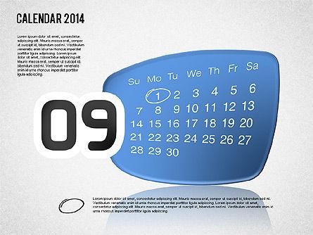 Calendar 2014, Slide 10, 01492, Timelines & Calendars — PoweredTemplate.com