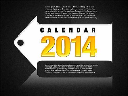 Calendar 2014, Slide 14, 01492, Timelines & Calendars — PoweredTemplate.com