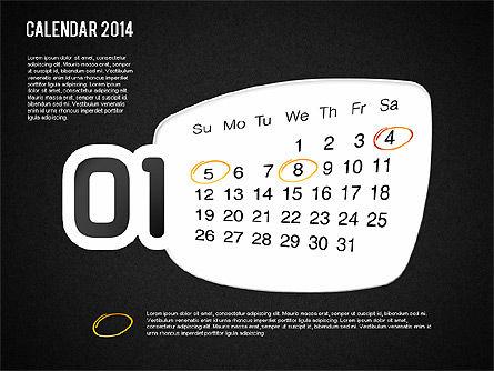 Calendar 2014, Slide 15, 01492, Timelines & Calendars — PoweredTemplate.com