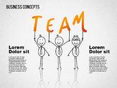 Shapes: Illustrazioni di affari con caratteri #01496