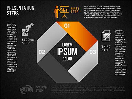 Presentation Steps Diagram, Slide 11, 01497, Stage Diagrams — PoweredTemplate.com