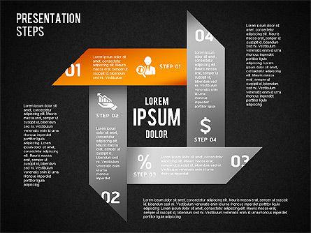 Presentation Steps Diagram, Slide 16, 01497, Stage Diagrams — PoweredTemplate.com