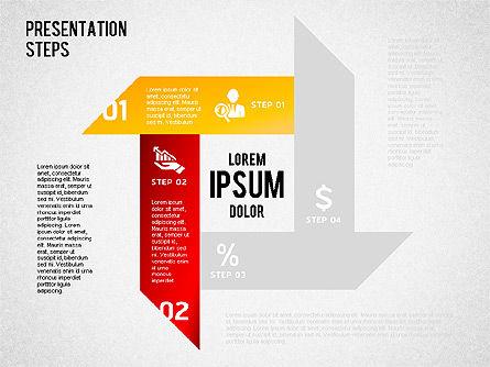 Presentation Steps Diagram, Slide 6, 01497, Stage Diagrams — PoweredTemplate.com