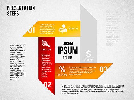 Presentation Steps Diagram, Slide 7, 01497, Stage Diagrams — PoweredTemplate.com