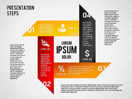 Presentation Steps Diagram, Slide 8, 01497, Stage Diagrams — PoweredTemplate.com