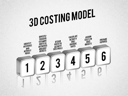 Process Diagrams: 3D Costing Model #01498