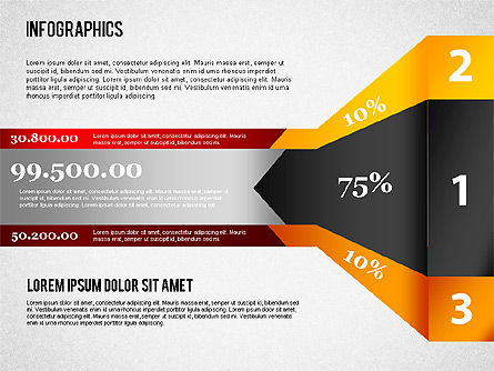 Infographics Set, Slide 4, 01499, Business Models — PoweredTemplate.com