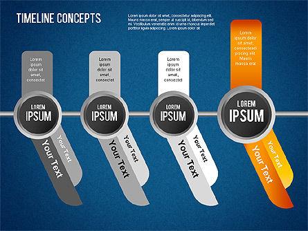 Timeline Concepts, Slide 13, 01500, Timelines & Calendars — PoweredTemplate.com