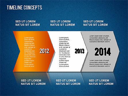 Timeline Concepts, Slide 15, 01500, Timelines & Calendars — PoweredTemplate.com