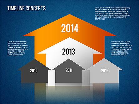 Timeline Concepts, Slide 16, 01500, Timelines & Calendars — PoweredTemplate.com