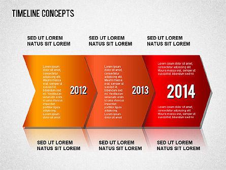Timeline Concepts, Slide 7, 01500, Timelines & Calendars — PoweredTemplate.com