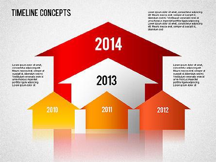 Timeline Concepts, Slide 8, 01500, Timelines & Calendars — PoweredTemplate.com