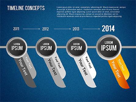 Timeline Concepts, Slide 9, 01500, Timelines & Calendars — PoweredTemplate.com