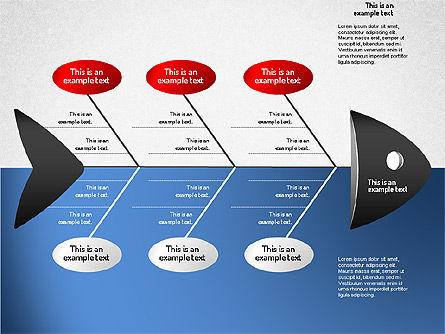 Ishikawa Diagram, Slide 10, 01503, Business Models — PoweredTemplate.com