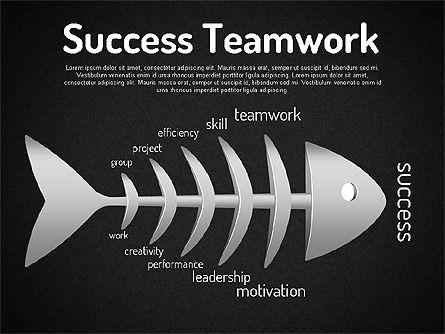 Ishikawa Diagram, Slide 13, 01503, Business Models — PoweredTemplate.com