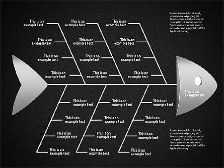 Ishikawa Diagram, Slide 14, 01503, Business Models — PoweredTemplate.com