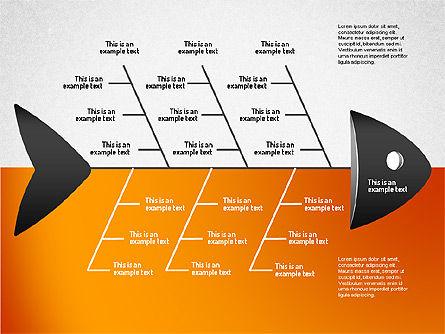 Ishikawa Diagram, Slide 6, 01503, Business Models — PoweredTemplate.com