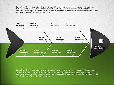 Ishikawa Diagram, Slide 8, 01503, Business Models — PoweredTemplate.com
