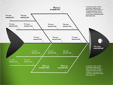 Ishikawa Diagram, Slide 9, 01503, Business Models — PoweredTemplate.com