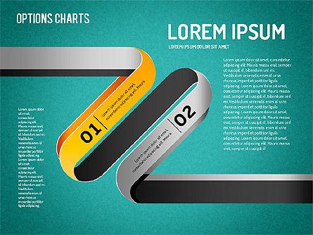 Curved Line Shapes, Slide 10, 01504, Shapes — PoweredTemplate.com