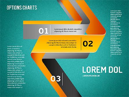 Curved Line Shapes, Slide 14, 01504, Shapes — PoweredTemplate.com