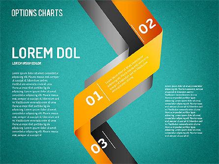 Curved Line Shapes, Slide 16, 01504, Shapes — PoweredTemplate.com