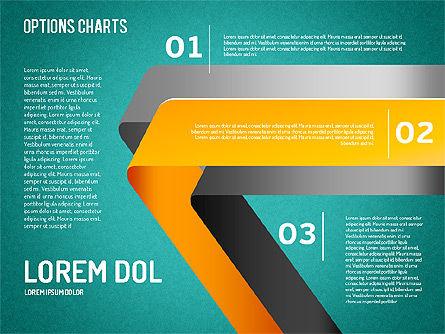 Curved Line Shapes, Slide 9, 01504, Shapes — PoweredTemplate.com