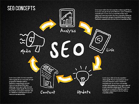 SEO Concepts Diagram, Slide 10, 01505, Business Models — PoweredTemplate.com