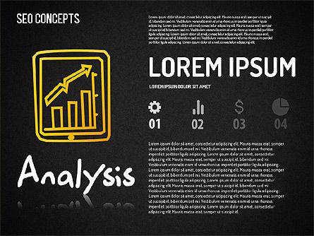SEO Concepts Diagram, Slide 11, 01505, Business Models — PoweredTemplate.com