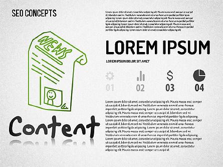 SEO Concepts Diagram, Slide 7, 01505, Business Models — PoweredTemplate.com