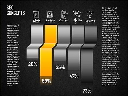 SEO Concepts Diagram, Slide 9, 01505, Business Models — PoweredTemplate.com
