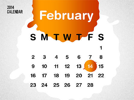 PowerPoint Calendar 2014 Slide 4