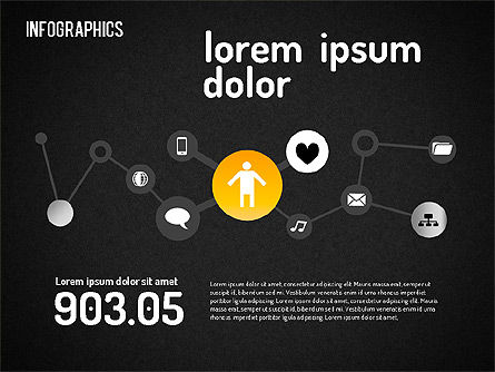 Social Infographics Toolbox, Slide 12, 01509, Business Models — PoweredTemplate.com