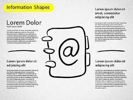 Information Shapes, 01513, Shapes — PoweredTemplate.com
